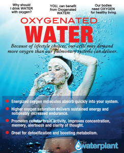 Oxygenaed Water