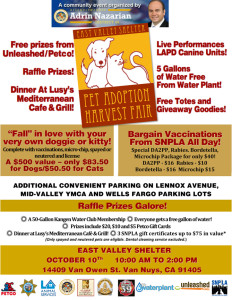 Pet Adoption Harvest Fair